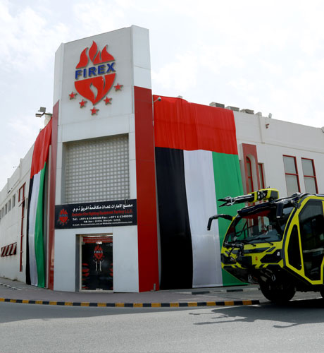 Welcome to Emirates Fire Fighting Equipment Factory LLC